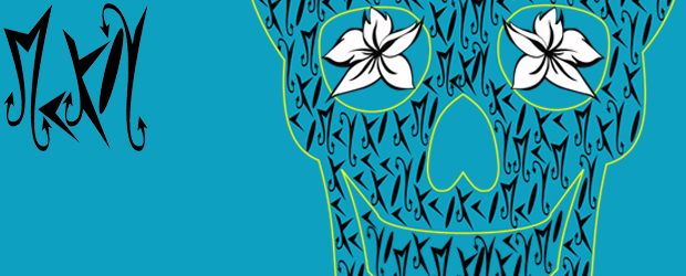 Nuevas camisetas de diseño Blue Skull McKoy