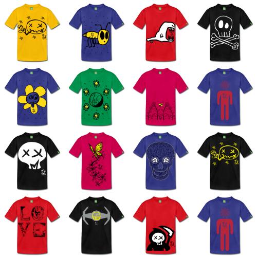 Camisetas de Diseño Little Punkys McKoy - Tienda Online de Camisetas