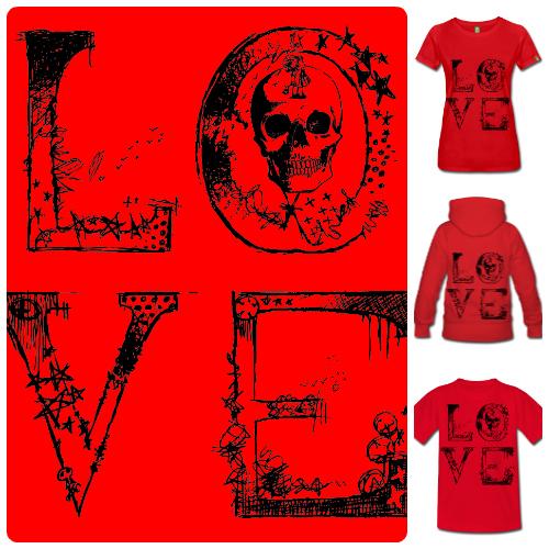 Camisetas de Diseño Love McKoy - Tienda Online de Camisetas