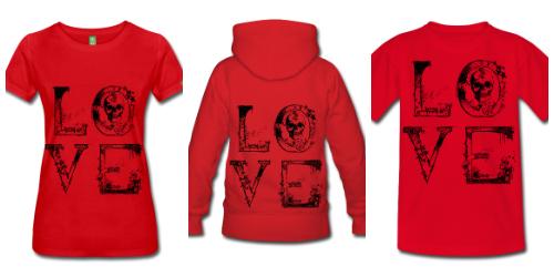 Camisetas de Diseño Love McKoy - Tienda Online de Camisetasas