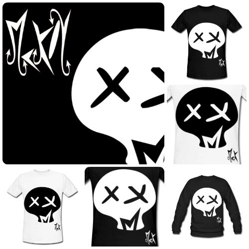Camisetas de Diseño Skull McKoy - Tienda Online de Camisetas