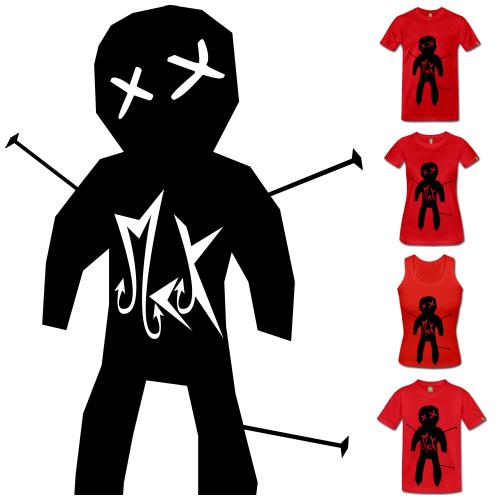Camisetas de Diseño Vudú McKoy - Tienda Online de Camisetas